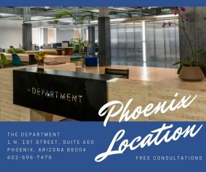 1 N. 1st St., Suite 600, Phoenix, Arizona 85004